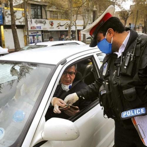 جریمه بیش از ۷ هزار خودرو به دلیل ورود به مناطق قرمز