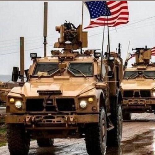 کاروان پشتیبانی لجستیکی آمریکا در عراق، هدف حمله قرار گرفت.