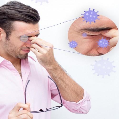 کرونا چگونه از طریق چشم منتقل میشود؟