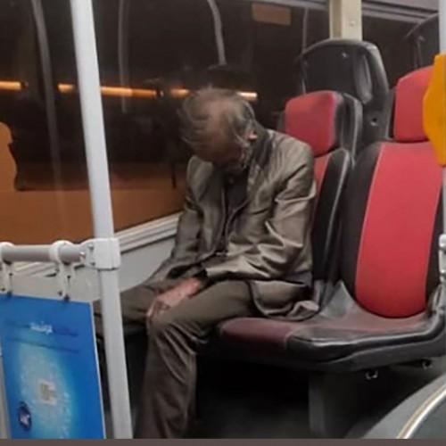کشف جسد نشسته یک مرد روی صندلی اتوبوس شهری تهران