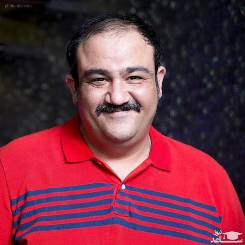 مهران غفوریان در جمع دوستانه بازیگران مشهور