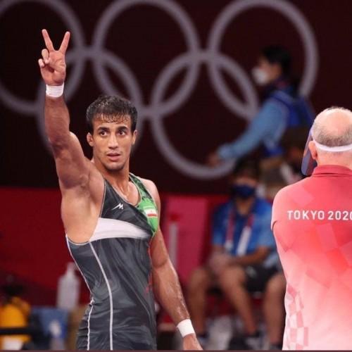 محمدرضا گرایی به فینال المپیک رسید