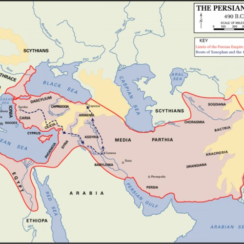 Middle East: Between Roman and Persian Empires