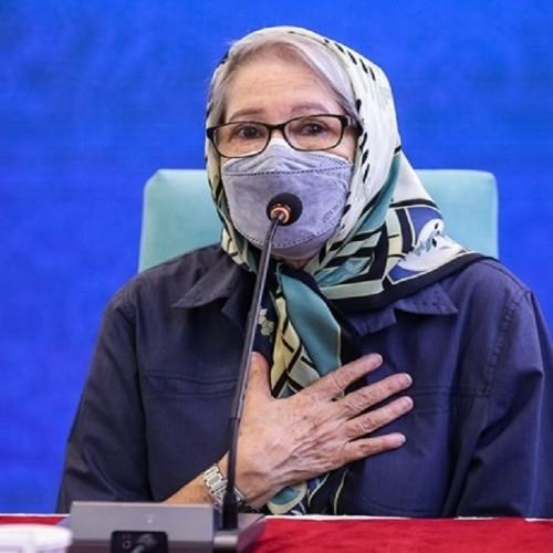 مینو محرز: اثربخشی واکسن ایرانی بیشتر از واکسن چینی است