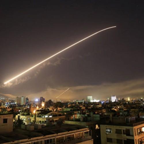 مقابله پدافند هوایی سوریه با حملات موشکی رژیم صهیونیستی