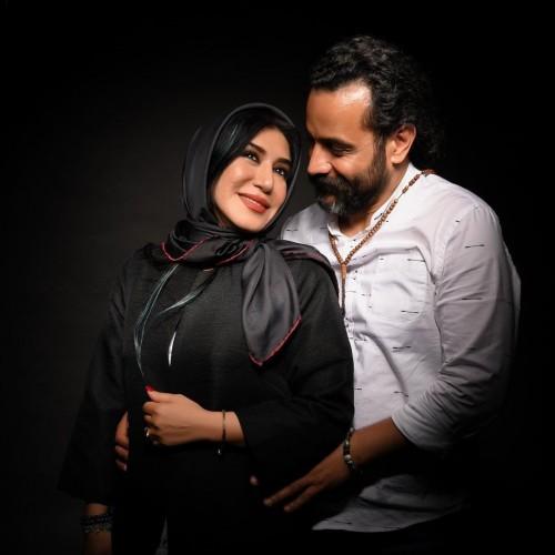 مراسم خاکسپاری همسر نسیم ادبی با دف و ساز