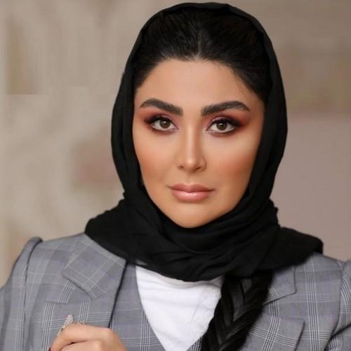 مریم معصومی در سالن زیبایی بازیگر مشهور