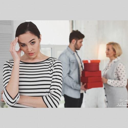 با بی احترامی های خانواده همسر چگونه برخورد کنیم؟