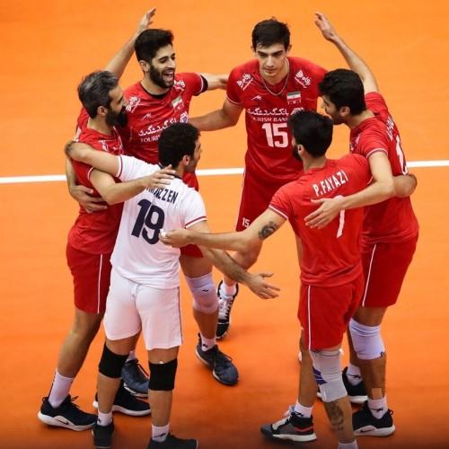 نبرد سخت تیمهای والیبال ایران و ایتالیا