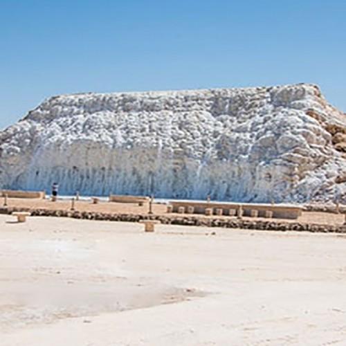 (فیلم) نخستین آبشار نمکی جهان