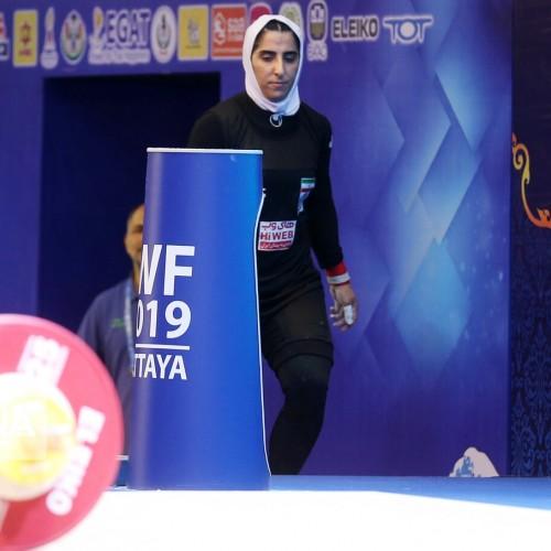 نخستین مدالآور وزنهبرداری زنان: هنوز شانس کسب سهمیه المپیک را داریم