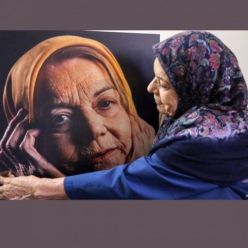 پیام تصویری صدیقه کیانفر قبل از فوتش اشک همه را در آورد