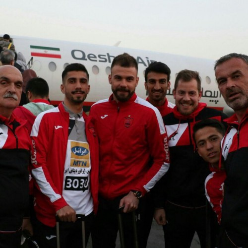 پرسپولیس با این هواپیمای کوچک به قطر رسید
