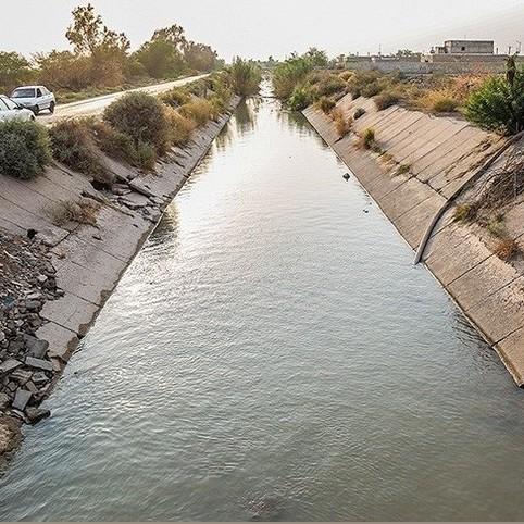 رهاسازی آب از سد کرخه به رفیع، بستان و سوسنگرد بعد از 18 روز بی آبی