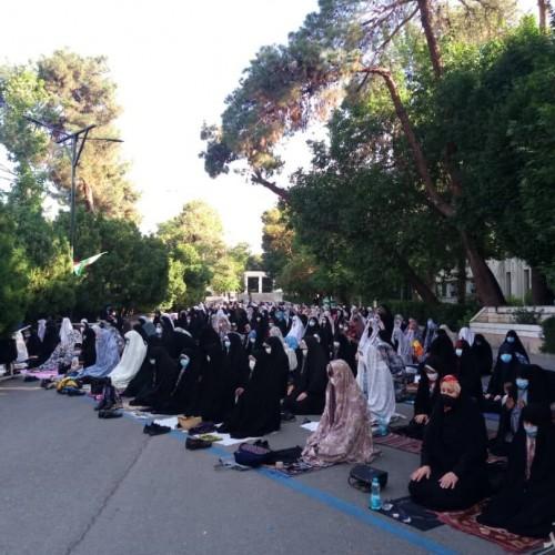 راهپیمایی نمازگزاران تهران در حمایت از مردم فلسطین
