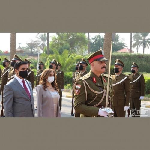 رایزنی وزیزان دفاع عراق و لبنان درباره گسترش همکاریهای مشترک
