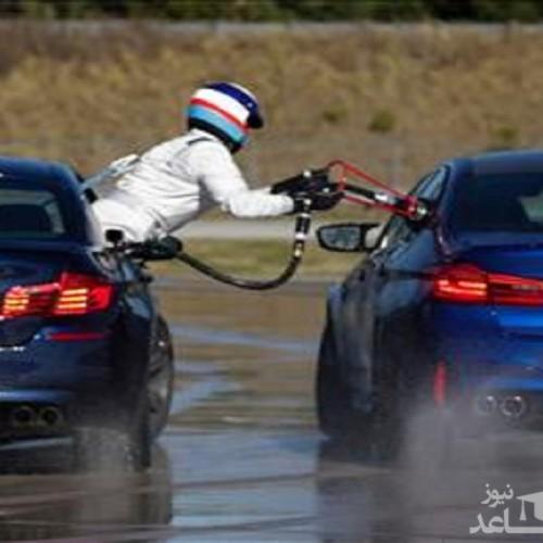 (فیلم) رکورد حیرت انگیز خودرویی در زمین لغزنده