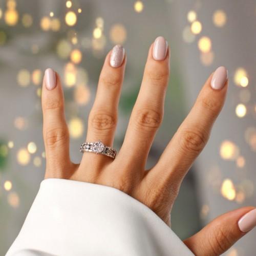 رکوردشکنی جهانی جواهرساز هندی با ساخت انگشتر الماس