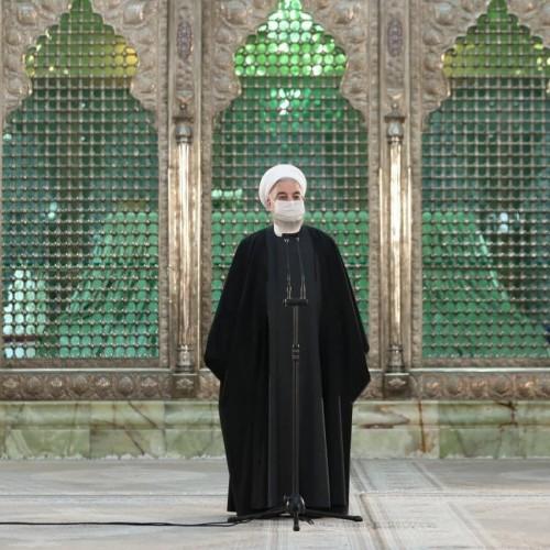 روحانی: امام (ره) قدرت نرم را انتخاب کرد/ ١٢ بهمن «یوم الخمینی» بود