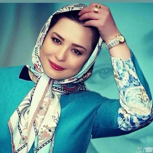 سلفی مهراوه شریفی نیا با موهای پریشان