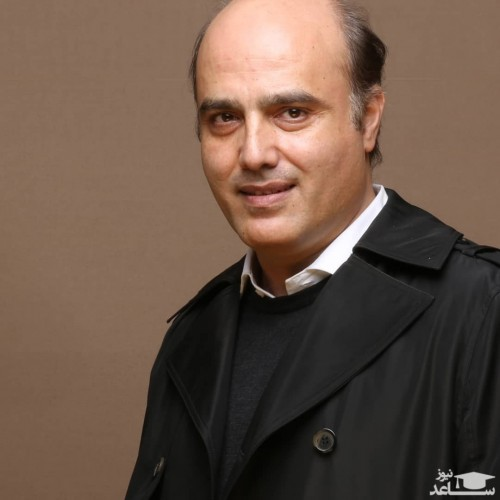 سعید داخ در کنار بازیگر مشهور سینمای ایران