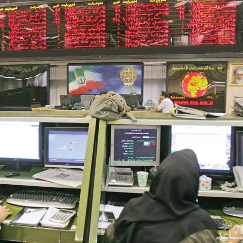 شاخص بورس تهران افت کرد