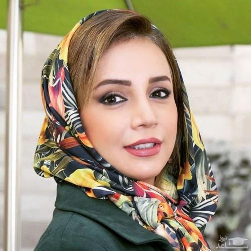 شبنم قلی خانی در سالن زیبایی دوستش