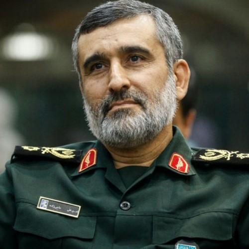 (فیلم) صحبتهای غرور آمیز سردار حاجیزاده: آمریکا باید جمع کند از اینجا برود