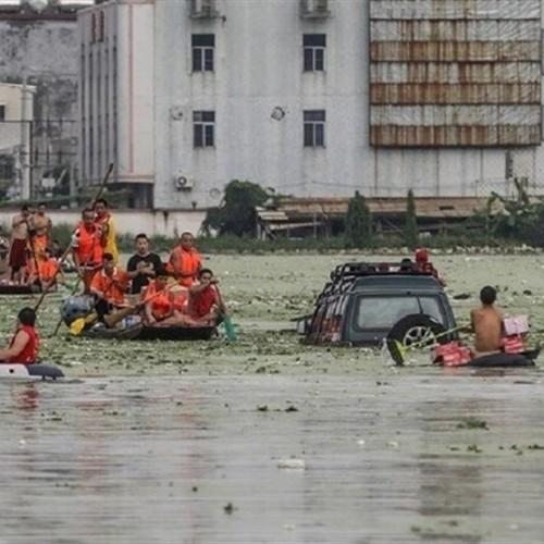 شکسته شدن سد بزرگ در چین/ ۱۰۰ هزار نفر «ژنگجو» را تخلیه کردند