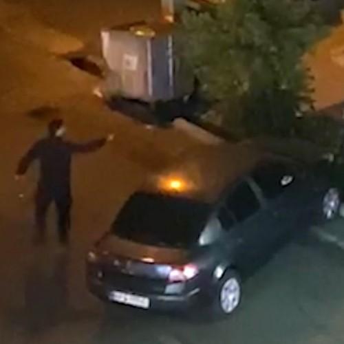 (فیلم) شلیک های وحشت آور در مرزداران تهران / همسایه ها بیرون ریختند