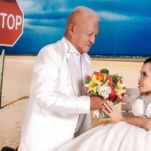 سوژه شدن ازدواج زن قد کوتاه با مردی که 30سال از خودش بزرگتر بود!