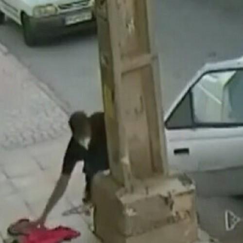 (فیلم)سرقت از لباسفروشی در روز روشن