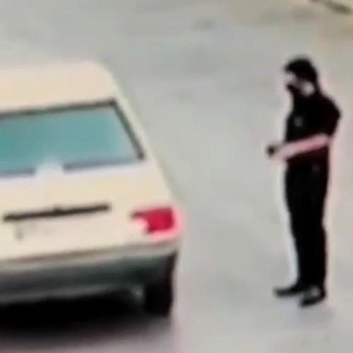 (فیلم) سرقت ناجوانمردانه پراید از یک زن در مشهد