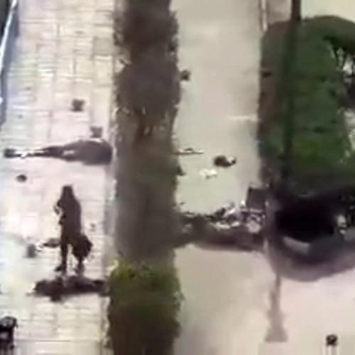 (فیلم +18) تازه منتشر شده از حمله تروریستی به رژه نیروهای مسلح در اهواز