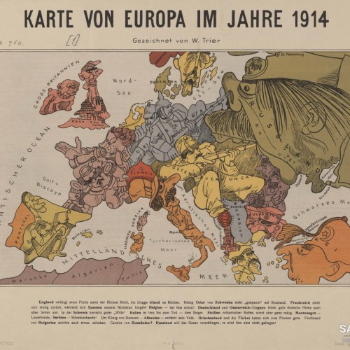 The European Powers in 1914