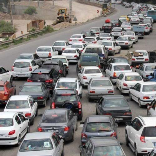 ترافیک فوقسنگین به سمت شهرهای شمالی