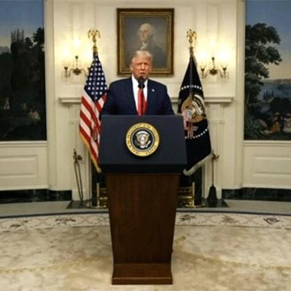 ترامپ: خدا کُند مجبور به کاربردِ سلاح اتمی نشویم