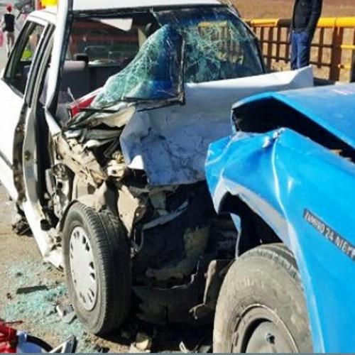 (فیلم) تصادف شدید نیسان با خودروی کوییک