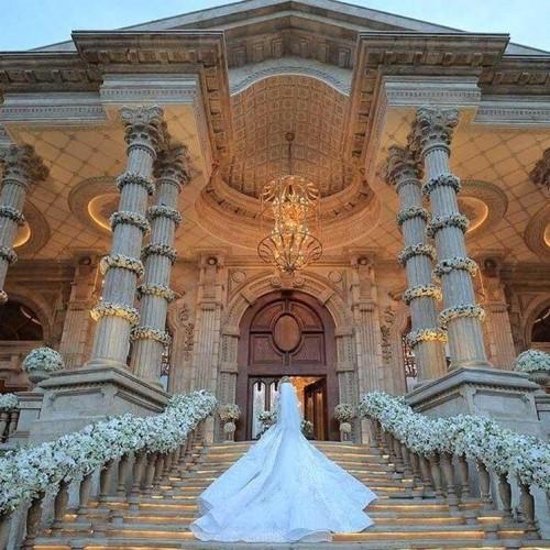 تصاویر عروسیِ پسر سومین ثروتمند دنیا