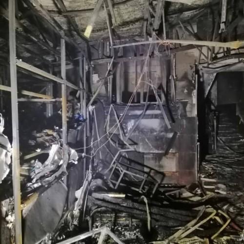 تصویری از اتاق عملی که در حادثه انفجار درمانگاه سینا بیشترین جانباخته را داشت