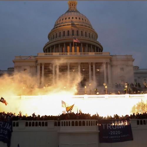 فیلم وحشت آمریکاییها از اقدامات خرابکارانه ترامپ