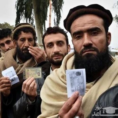 ورود افغانستانی های گریزان از طالبان به ایران