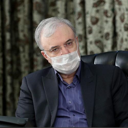 وزیر بهداشت: در مرحله سرازیری قلههای پیک چهارم کرونا هستیم