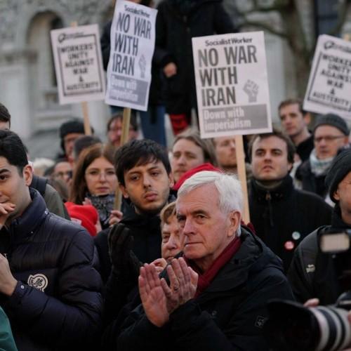 زد و خورد پلیس با معترضان ضد نژادپرستی در لندن