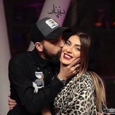 فیلم لو رفته از رقص دو نفره محسن افشانی و همسرش