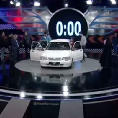 (فیلم) چند نفر را میتوان در یک پراید جا کرد؟