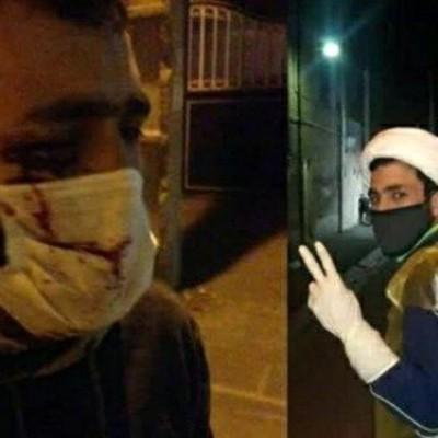 حمله مرد مست با چاقو به یک روحانی در تهران + 4 عکس از حمله خشن در شب گذشته