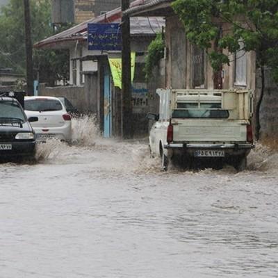 اخطاریه سازمان هواشناسی درباره بارشهای شدید