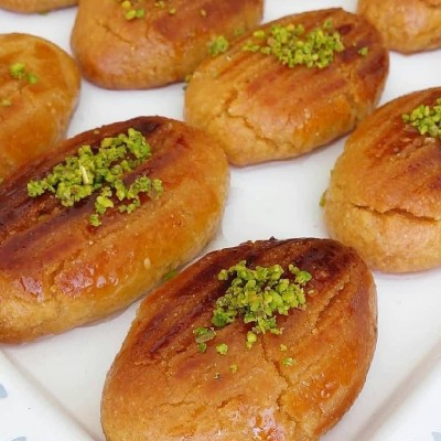 طرز تهیه شیرینی شکر پاره ترکی
