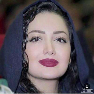 شیلا خداداد در کنار شهیاد خواننده معروف ایرانی
